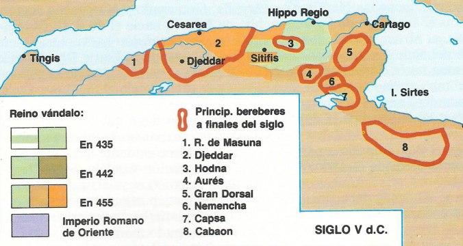 Estados bereberes del siglo V